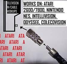 5 xx ATARI 2600 TV Game converter direct adaptor switch