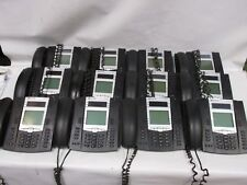 Lot of 12 Aastra Zultys ZIP 57i 6757i VOIP Display Office Phones w/stands