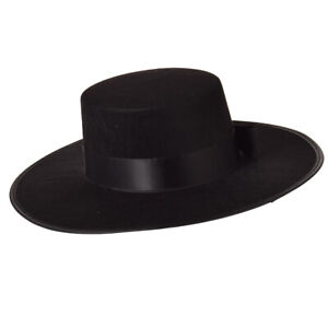 Spanish Hat Matador Hat Bowknot Bull Fight Hat Sombrero Spanish Hat Black