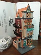 Dept 56 Christmas In The City Lighted 1991 The Doctor'S Office 55441 Retired