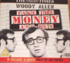 Take The Money And Run (DVD), Woody Allen, Janet Mangolin, Jan Merlin.