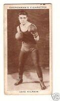 Jake Kilrain  Boxing Vintage 1938 Cigarette Card