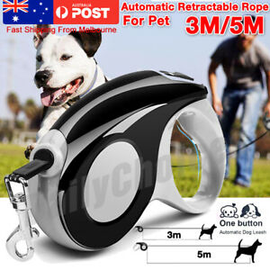 Automatic Heavy Duty Retractable Dog Leash Pet Collar Walking Lead Traction Rope