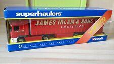 CORGI SUPERHAULER TY86626 - JAMES IRLAM SCANIA BOX TRAILER