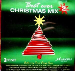 Best Ever Christmas Mix - 2, 2 CD Set  -  CD, VG