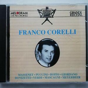 Franco Corelli Recital / Melodram CD CDM 16521