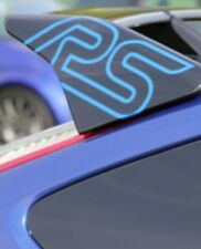2x Ford Focus RS Spoiler Pegatina Verde Azul Rojo Negro Blanco Ala Pegatina Perfo