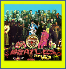THE BEATLES- SGT. PEPPER  FANTASY 45 PICTURE SLEEVE #3 **COLORED VINYL SERIES**