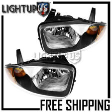 Left Right Sides Pair Headlights for 2003-2005 CHEVY CHEVROLET CAVALIER