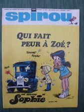 Journal SPIROU n° 1591 (52  pages) du 10 octobre 1968 - COMPLET sans  Doc SPIROU