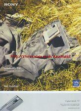 Sony Cyber-Shot T7 Camera 2005 Magazine Advert