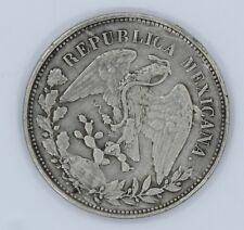 MEXICO 1900 1 PESO M COIN - KM# 409.2