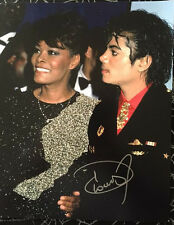 DIONNE WARWICK SIGNED 8X10 W/ PROOF MUSIC LEGEND WHITNEY HOUSTON MICHAEL JACKSON