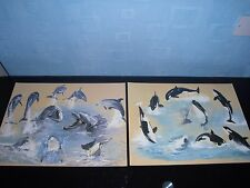 Pollyanna Pickering Dolphin and Whale Prints