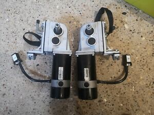 Pair of Pride Lx11 Powerchair Motors With Gearboxes