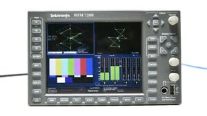 Tektronix WFM7200 HD/SD Waveform Monitor Multi Format Opt. AD LOUD 7200