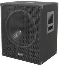 "QTX QT15SA 15"" 600W Powered Active PA Subwoofer DJ Band Bass Bin Sub Speaker"