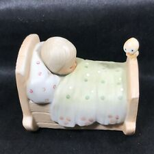 Precious Moments 1979 Blessed Are the Pure in Heart Figurine 3-1/2� x 2-1/2�