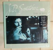 "J.D. Souther  ""Home by Dawn "" LP in Shrink   Hype Sticker Cut Out"