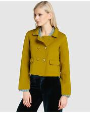 Manteaux et vestes verts en polyester pour femme, taille 42