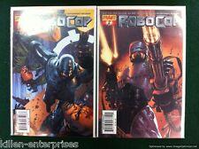 Robocop #1-2 Comic Book Set Dynamite 2010