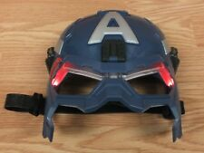Genuine Hasbro 2013 Marvel Captain America Rodgers Light up Mask w/ Straps