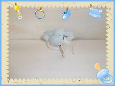 ♥ - Doudou Hochet Grelot  Mouton Oscar Bleu Blanc J-Line Neuf