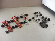 Lot de 5 voitures F1, Polistil, Marlboro, Ford, Brabham, Lotus, 1/25