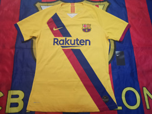 Barcelona 2019-20 away match player issue shirt(CL veision, BNWT)