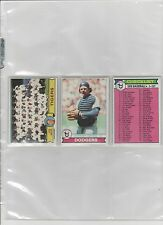 1979 TOPPS BASEBALL PICK-15 TO COMPLETE YOUR SET OR TEAM SET      NEAR-MINT