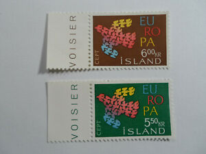 Discount Stamps : ICELAND SC# 340-341 MNH EUROPA CEPT TOPICAL 2v SET