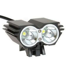 5000Lm 2X CREE XM-L U2 LED Bicycle Bike Light Torch Lamp + 6400mAh Battery Pack