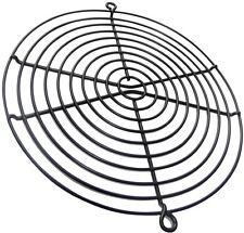Grille noire de protection Ø171mm ventilation pour ventilateur boîtier pc