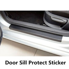 2pcs front+2pcs rear door sill scuff cover Car Door Plate Protect Car Sticker