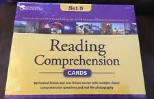 Reading Comprehension Cards Set Of 60 Fiction And Nonfiction New
