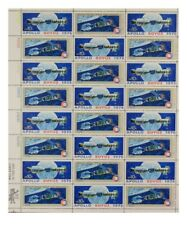 US STAMPS - FULL SHEET OF 24 APOLLO SOYUZ SPACE TEST STAMPS 10 CENT