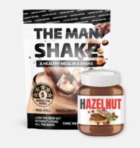 The Man Shake Choc Hazelnut Limited Edition Flavour Manshake