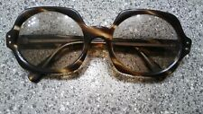 Vintage Octagon Tortoiseshell Sunglasses Hand Made In France Stated