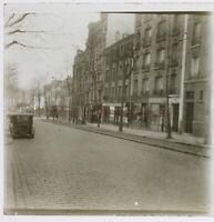 Ville A Identificare c1930 Foto Stereo Placca Da Lente Vrn Vintage