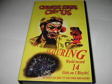 CHINESE STATE CIRCUS (1997) V.RARE VHS VIDEO -14 Girls on 1 Bicycle World Record