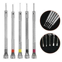 5pcs Precision Screwdriver Set Eyeglasses Watch Jewelry Watchmaker Repair Tool