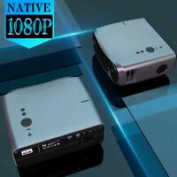 8500lms Native1080P Beamer Full HD Projektor Heimkino Spiele HDMI Zoom Party USB