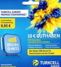 3G SIM-Karten von Turkcell