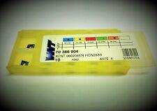 10st WNT Wendeplatten XCNT 060204EN HCN2430  Wendeschneidplatten