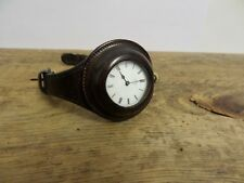 ORIGINAL, WW 1 ERA OFFICERS WATCH , DENT OF LONDON ENGLISH SILVER CASED .