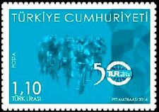 TURKEY 2014, PRESIDENTAL CYCLING TOUR OF TURKEY, SPORTS, ANTALYA, MNH