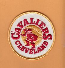 OLD LOGO 1970's CLEVELAND CAVALIERS 3 inch PATCH UNSOLD STOCK CAVS