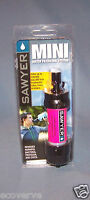 [SP102]( 1X) PINK Sawyer Mini Water Filter w/16 oz pouch FREE Shipping  SP128
