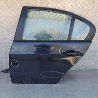 BMW 3 Lui E90 LCI Lato Conducente Porta Posteriore Sinistra Nero Carbone Nero