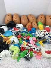 Mr Potato Head 116 Piece Huge Lot Parts Star Wars Santa Pirate Corn Bunny Mini